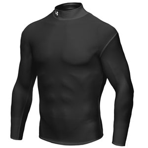 Under armour heat cold gear rashguard for Under armour heat gear button down shirt