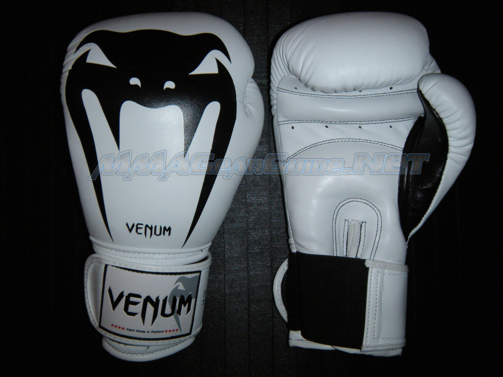Venum Giant Leather Boxing Gloves Gloves
