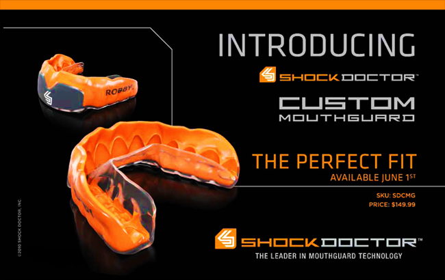 ShockDoctor Custom Mouthguard | MMAGearGuide.net