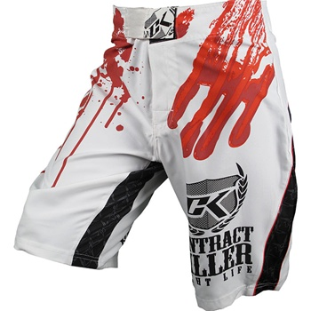 contract-killer-stained-mma-shorts-white-with-red