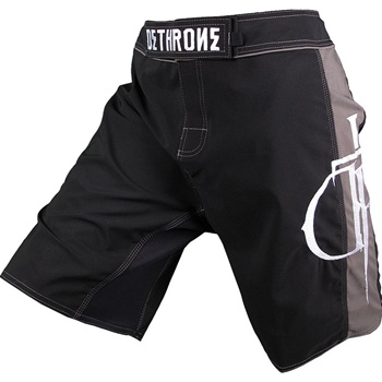 dethrone-black-with-grey-dtr-fight-shorts