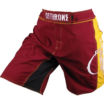 dethrone-maroon-with-yellow-dtr-fight-shorts