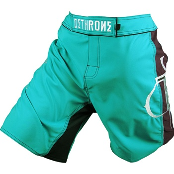 dethrone-teal-with-brown-dtr-fight-shorts