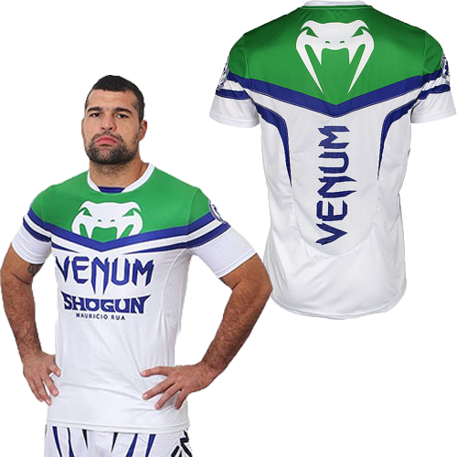 Shogun Rua Green Blue Venum Quick Dry